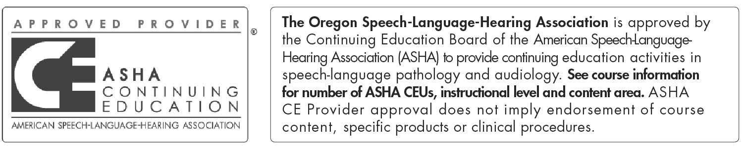 Oregon Speech-Lang-Hearing